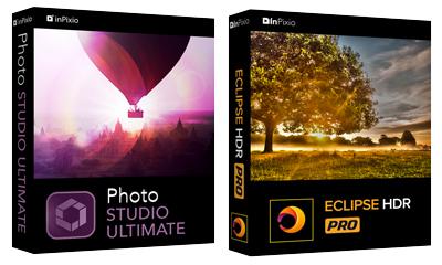 InPixio Photo Studio 10 Ultimate & Eclipse HDR Pro