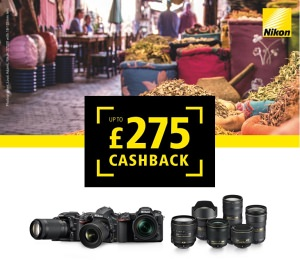 Claim Cashback With Nikon