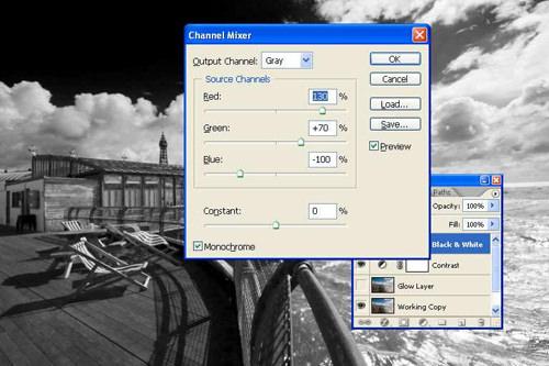 Creating the Monochrome Image