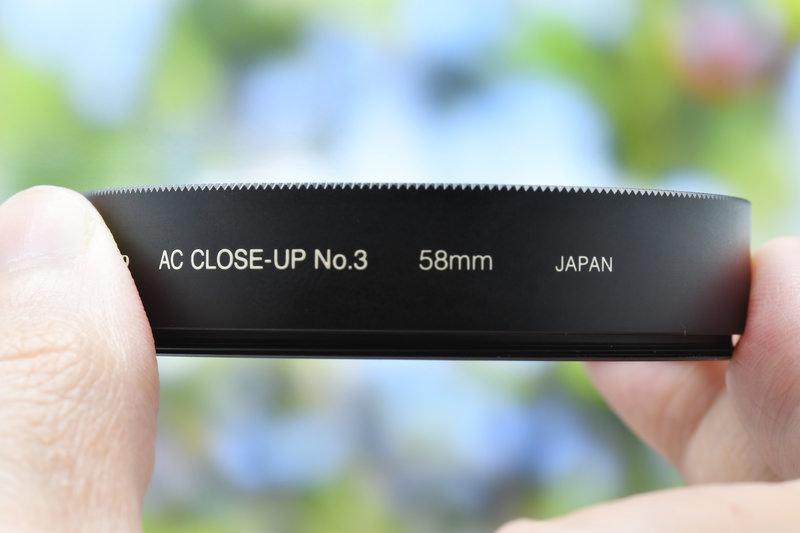 Close-up filter