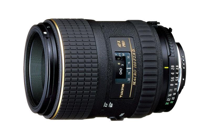 Tokina 100mm f/2.8 macro lens