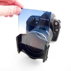Cokin Landscape 1 filter kit Blue Grad in holder.