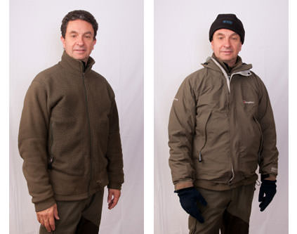 Clothing for winter photography