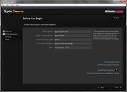 Datacolor Spyder Studio SR paper options