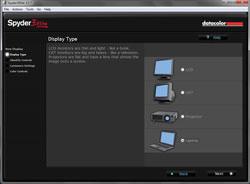 Datacolor Spyder Studio SR screen set-up