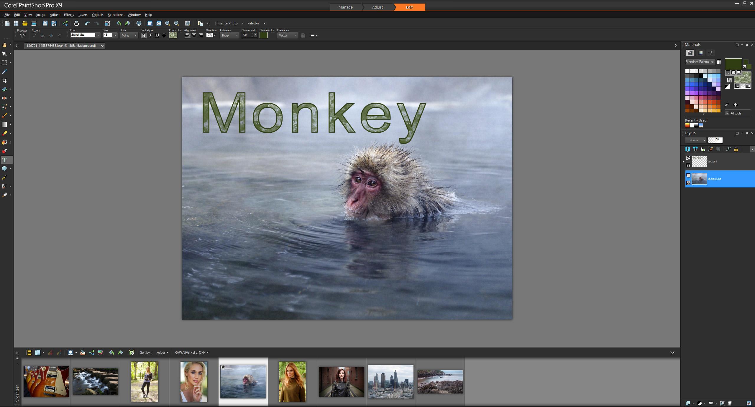 Corel PaintShop Pro X9 Review | ePHOTOzine