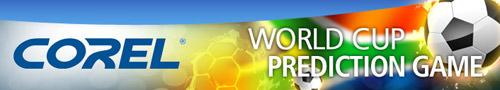 Corel World Cup Prediction Game