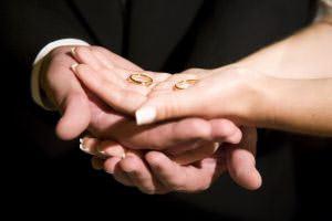 Wedding couple sue photographer