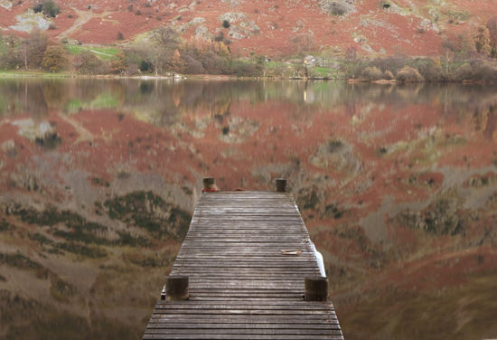 lightly cropped jetty at Ullswater