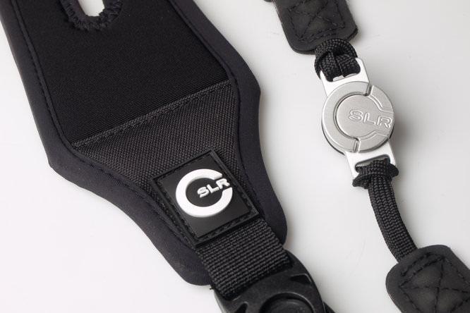Custom SLR Camera Strap Logo