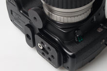 Custom SLR M-Plate On Camera