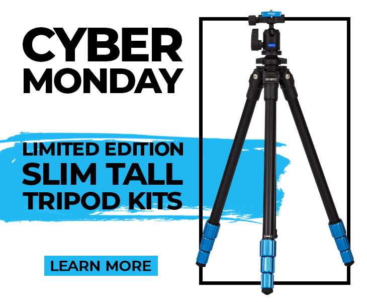 Limited Edition Tall Benro Slim Tripod Now Available!
