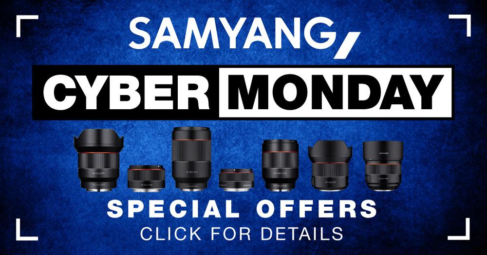 Cyber Monday Offers On Samyang Lenses