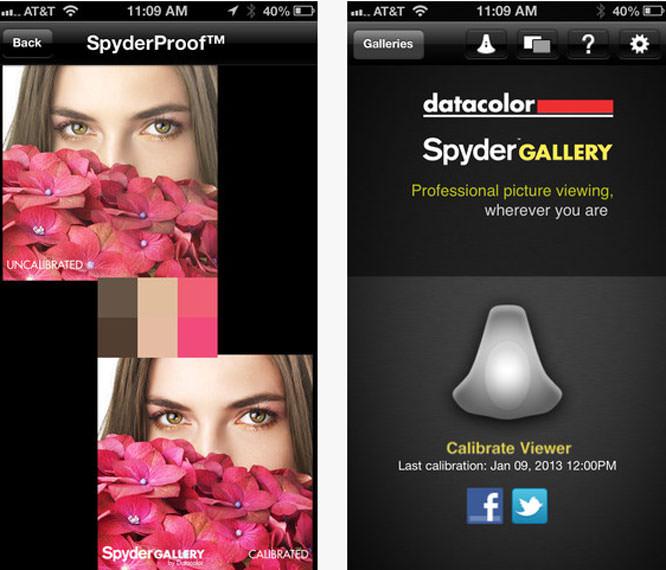 Datacolor Spyder Gallery app