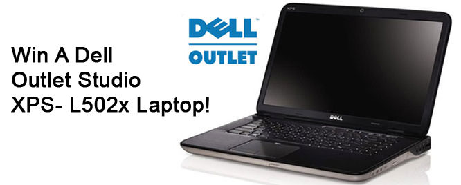 Win a Dell Outlet Studio XPS- L502x Laptop!