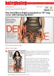 Demi Moore photoshop image?