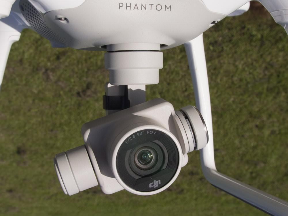 DJI Phantom4 Drone Camera Close