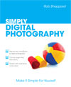 Simply digital photography book cover
