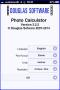 Thumbnail : Douglas Software Photo Calculator Version 3.2.2
