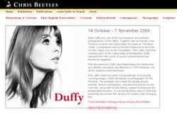 Duffy exhibition