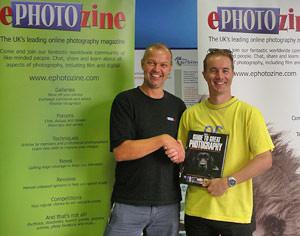 ePHOTOzine book arrives - at last