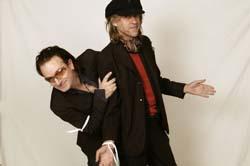 Bono and Bob Geldof
