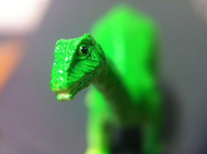 Easy Macro Cell Lens Band Dinosaur