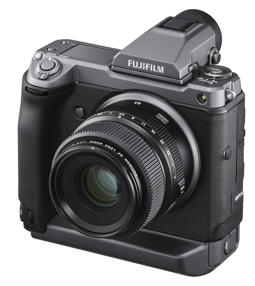 GFX 100 LeftObl+EVF+GF63mm