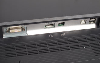 EIZO FlexScan SX2762W Ports