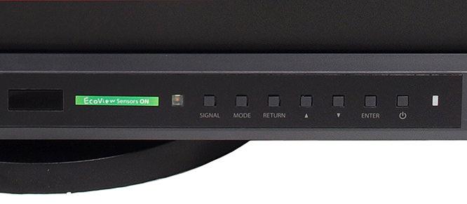 EIZO FlexScan SX2762W Control Panel
