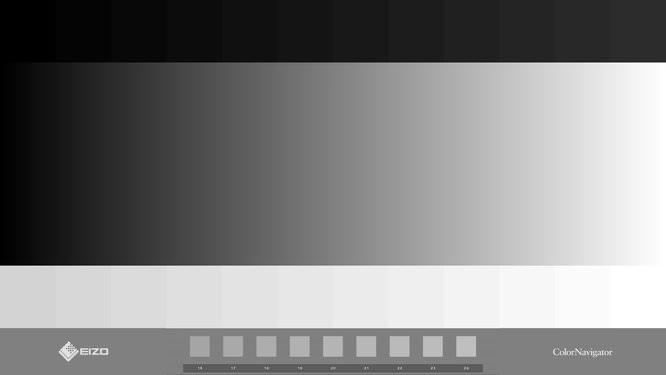 Eizo Greyscale Test