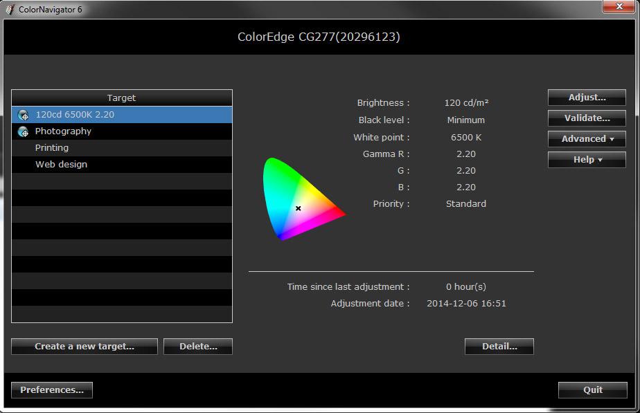 CG277 Colornavigatorwindow