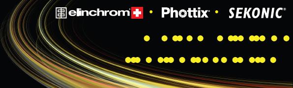 Elinchrom, Phottix and Sekonic logo