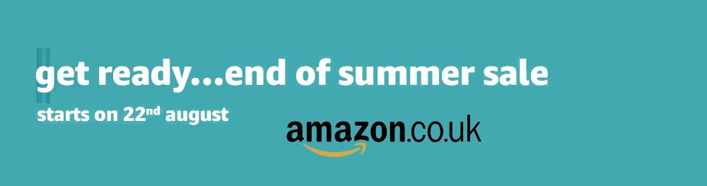 Amazon UK End of Summer Sale