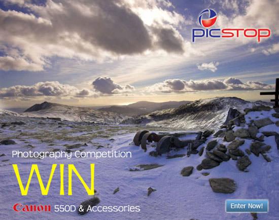 Win a Canon 550D