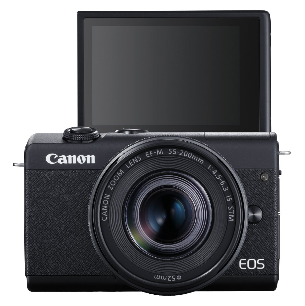 35 Canon EOS M200 TheFront EF M55 200mmF4