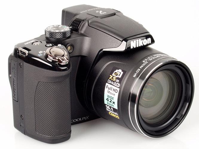 Nikon Coolpix P510 Front Angled