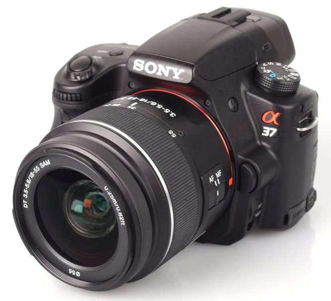 Sony Alpha A37 Body And Lens