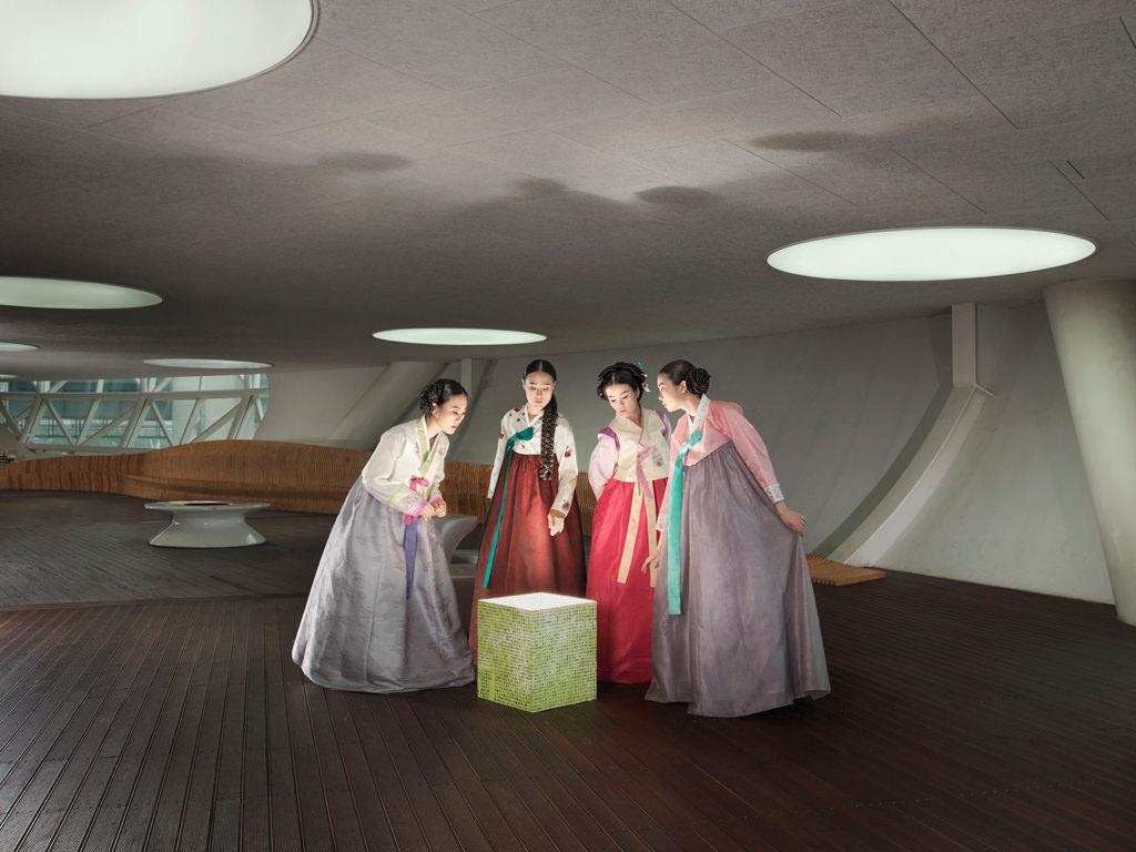 Korea_Present by Julia Fullerton-Batten