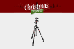 ePHOTOzine Christmas Prize Draw Day 18 - Win A Manfrotto Befree GT Carbon Tripod!