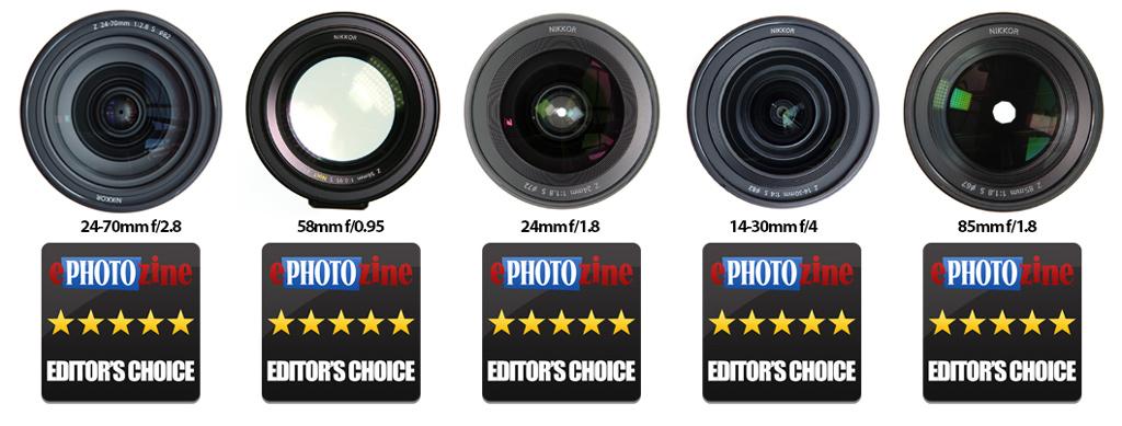 Nikon Z Series Lenses - Editor's Choice