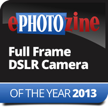 Full-Frame DSLR Camera Of The Year 2013