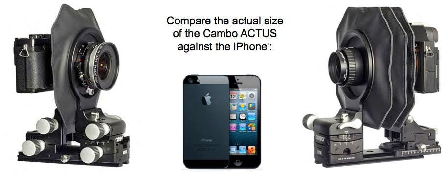 Cambo vs iPhone