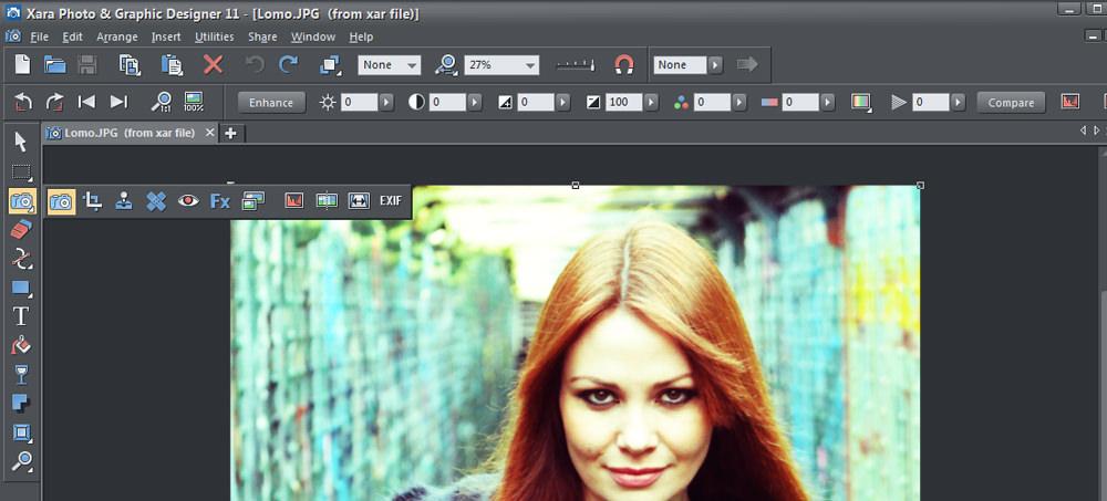 Xara photo tools