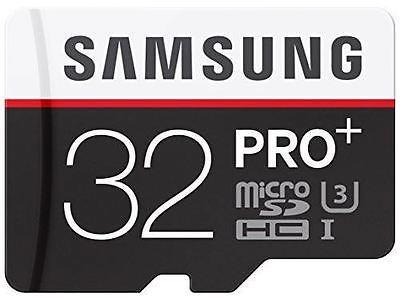 Samsung 32GB Pro+ micro SDHC card