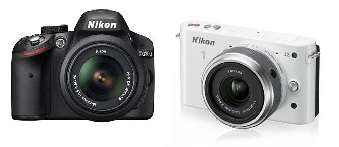 Win a Nikon D3200 | Nikon 1 J2
