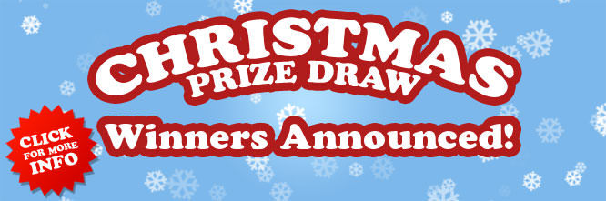 Christmas Prize Draw Winners