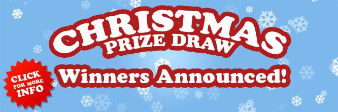 Christmas Prize Draw Winners