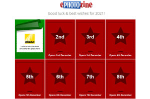 ePHOTOzine's Iconic Christmas Prize Draw Unwrapped