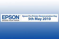 Epson Pro Printer Demo Day